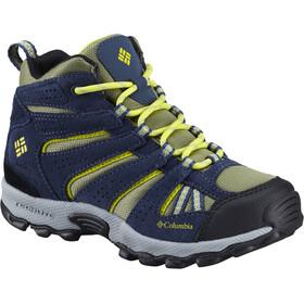 Columbia North Plains Mid Waterproof - Chaussures Enfant - bleu